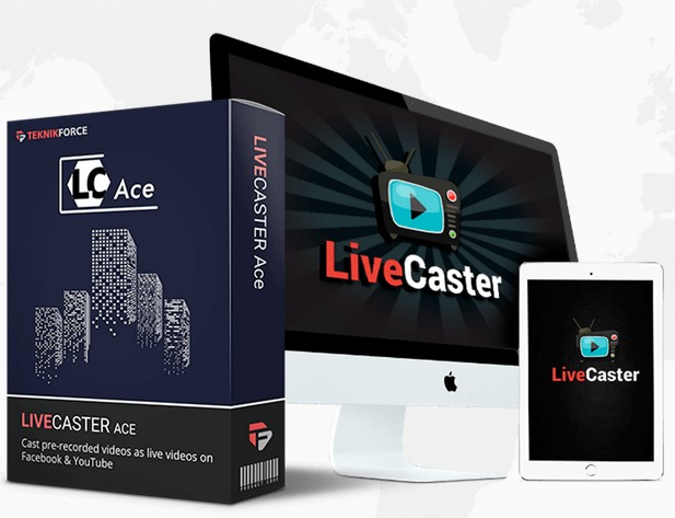 Livecaster Ace Upgrade by Cyril Gupta