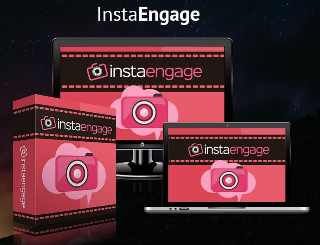 InstaEngage Influencer Instagram App Software by Emma Anderso