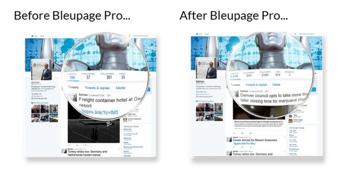 BleuPagePro Social Media Management Tool by Lance Robinson