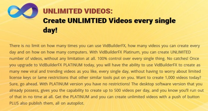 VidBuilderFX Pro Platinum Edition Upgrade OTO by Abhi Dwivedi