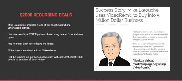 SmartVideo VideoRemix Personalizer Software by Simon Warner