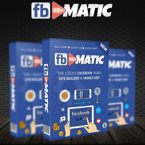 FB Vidmatic Facebook Video Site Builder Software Plugin by Billy Darr