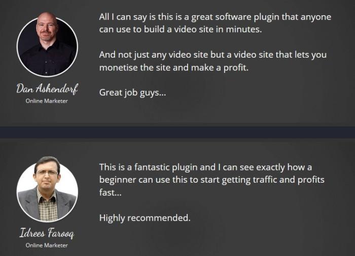 FB Vidmatic Pro Facebook Video Site Builder Software Plugin by Billy Darr