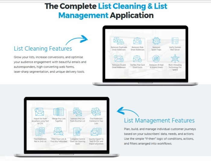 ListJanitor List Cleaning And Management Software by Cyril Gupta