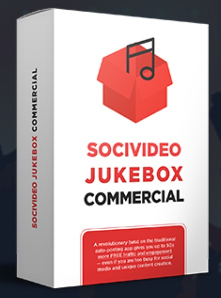 SociVideo Jukebox Commercial Upgrade OTO by Ben Murray