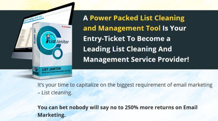 List Janitor Agency Software by Cyril Gupta