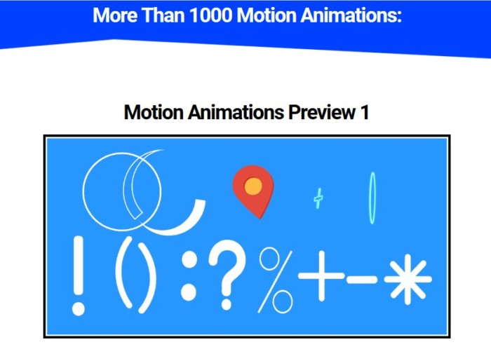 Motion Animation Pro by SuperGoodProduct