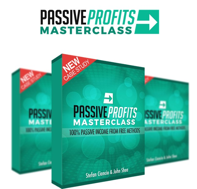 Passive Profits Masterclass Training Course by Stefan Ciancio