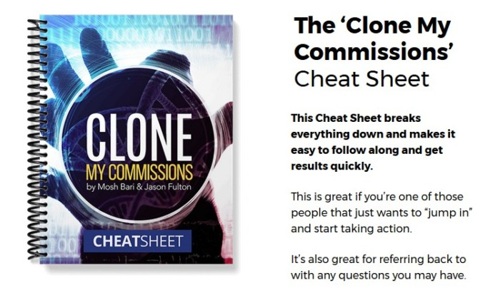 Clone My Commissions Training Formula by Mosh Bari