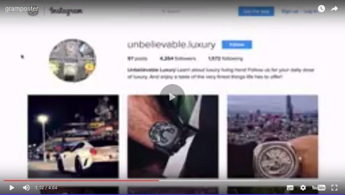 Gram Poster Instagram App Software by Thomas Witek