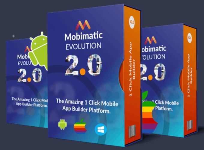 Mobimatic 2.0 Evolution Mobile App Builder Software by Dr. Ope Banwo