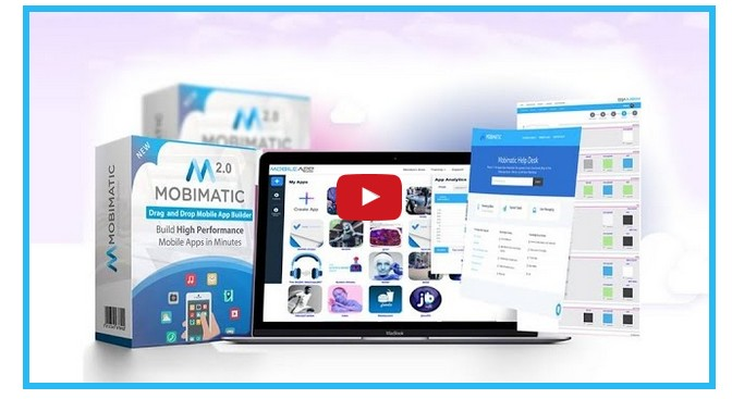 Mobimatic 2.0 Evolution Mobile App Builder Platform by Dr. Ope Banwo