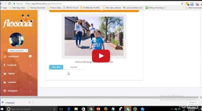 Flexsocial Social Media Automation Software by Daniel Adetunji