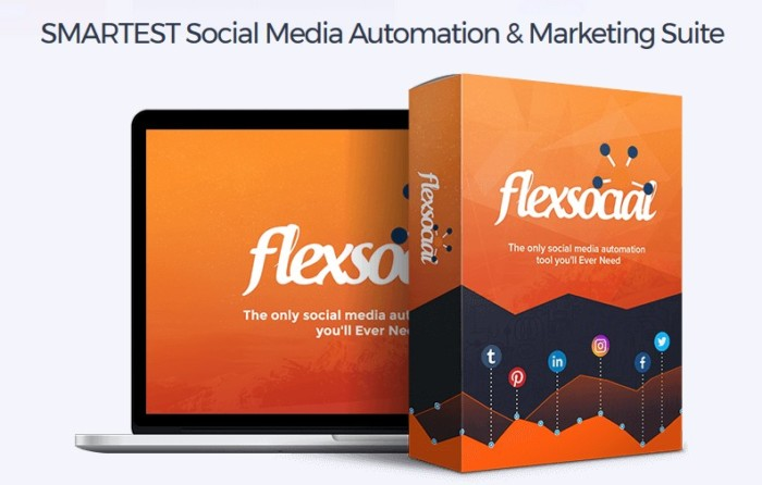 Flexsocial Social Media Automation Suite Software by Daniel Adetunji