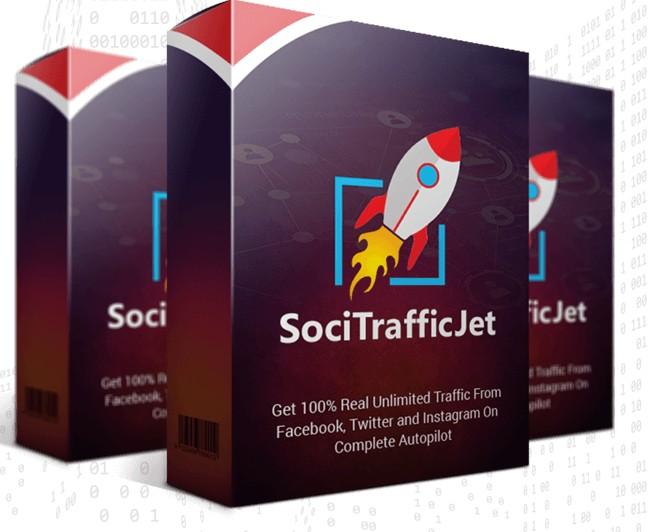 SociTrafficJet Social Media Traffic Software by Amit Pareek