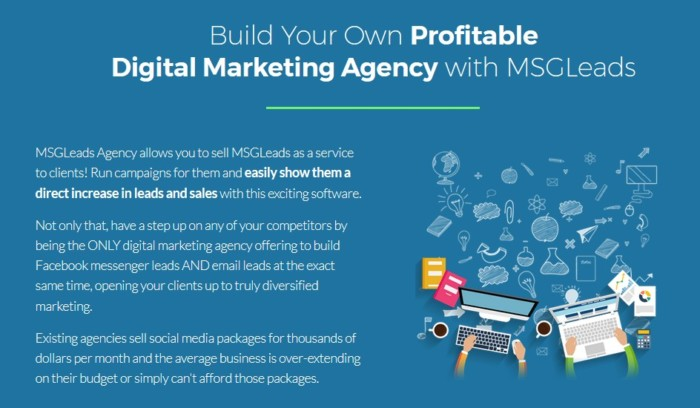 MSGLeads Agency Software by Brad Stephens
