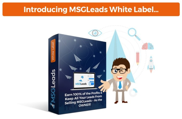 MSGLeads White Label Software by Brad Stephens
