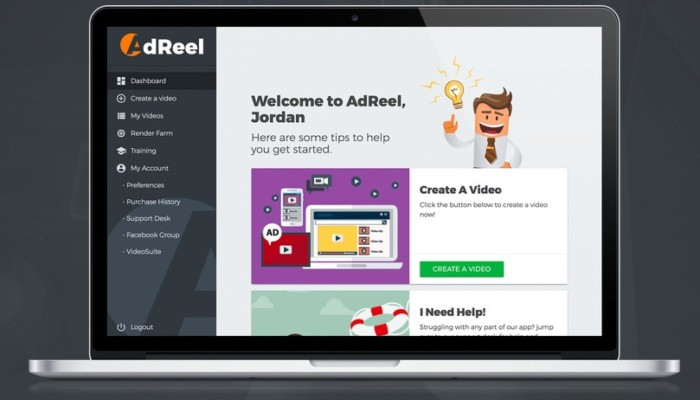 Ad Reel Pro Video Ad Animation Platform Software by Ryan Phillips VideoSuite