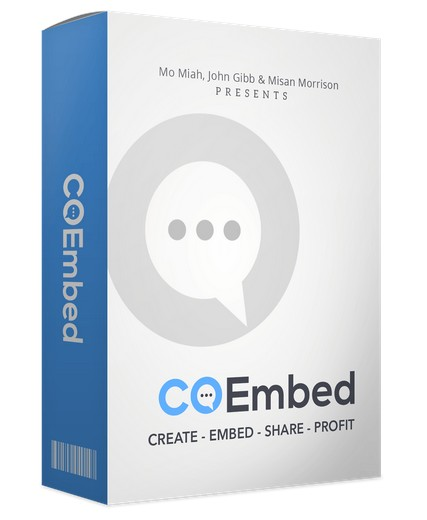 Co Embed Software by Mo Miah And John Gibb