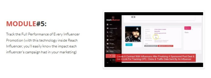 ReachInfluencer PRO App Software by Victory Akpos