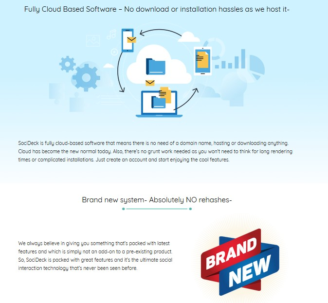 SociDeck Pro Plan Social Media Management Software by Amit Pareek