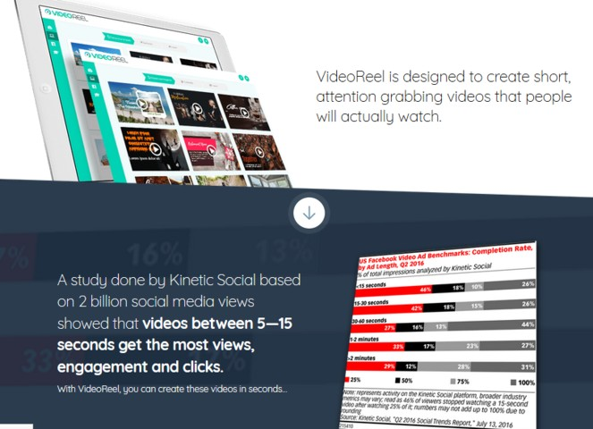 VideoReel Video Creation Software by Abhi Dwivedi