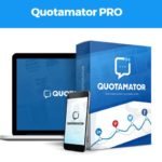 Quotamator Pro Automated Visual Quote Maker Software by Brett Ingram and Mo Latif Review – Best World's Fastest and 100% Automated Quote Creator, Powered With 1 Click Mass Exposure For FREE Traffic, Revolutionary, Visually-Engaging System That Gives You The Power to Immediately Grab Your Visitors On A Personal, Human-Level And Inspire So They Buy on Impulse
