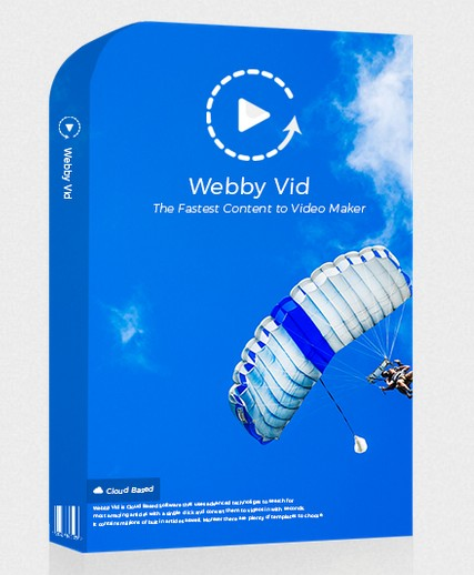 WebbyVid Pro Upgrade OTO Software by Radu Hahaianu