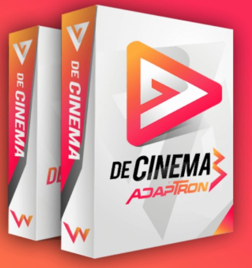 decinema adaptron powerpoint video templatesagus sakti review, Modern powerpoint