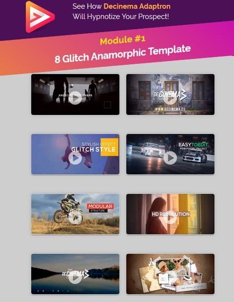 Decinema Adaptron Powerpoint Video Templates by Agus Sakti Review