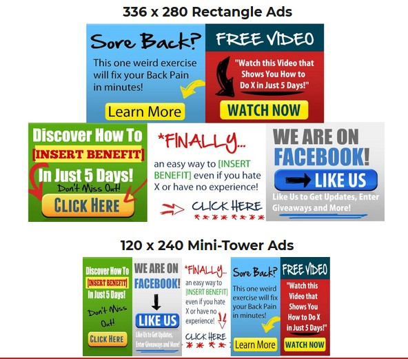Easy Ad Wizard Pro Website Banner Ads Software by Noel Cunningham