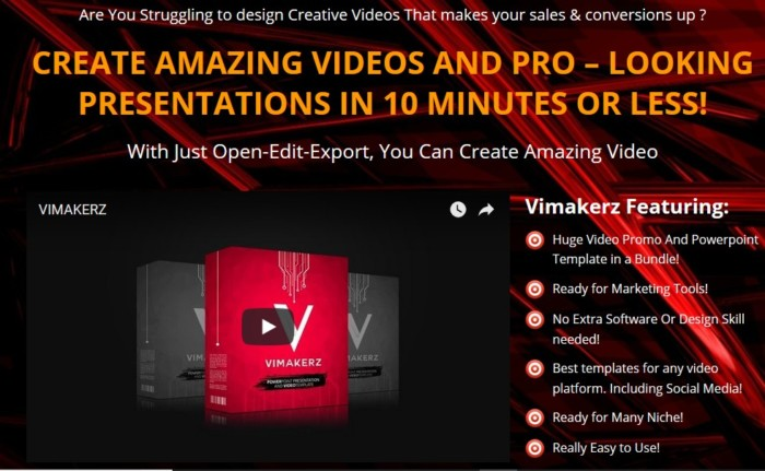 vimakerz pro video templates and presentationsaries firmansyah, Presentation templates