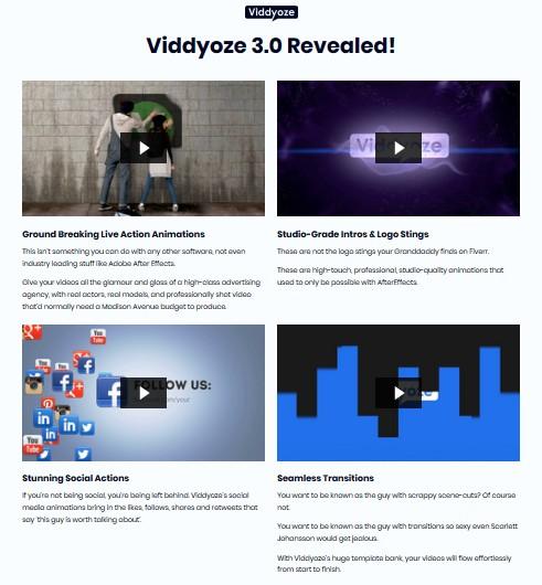 Viddyoze 3 0 PRO Commercial Video Animation | JVZOO RESEARCH