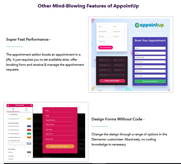 AppointUp Appointment Addon For Elementor | JVZOO RESEARCH