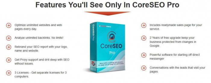 CoreSEO Pro   JVZOO RESEARCH