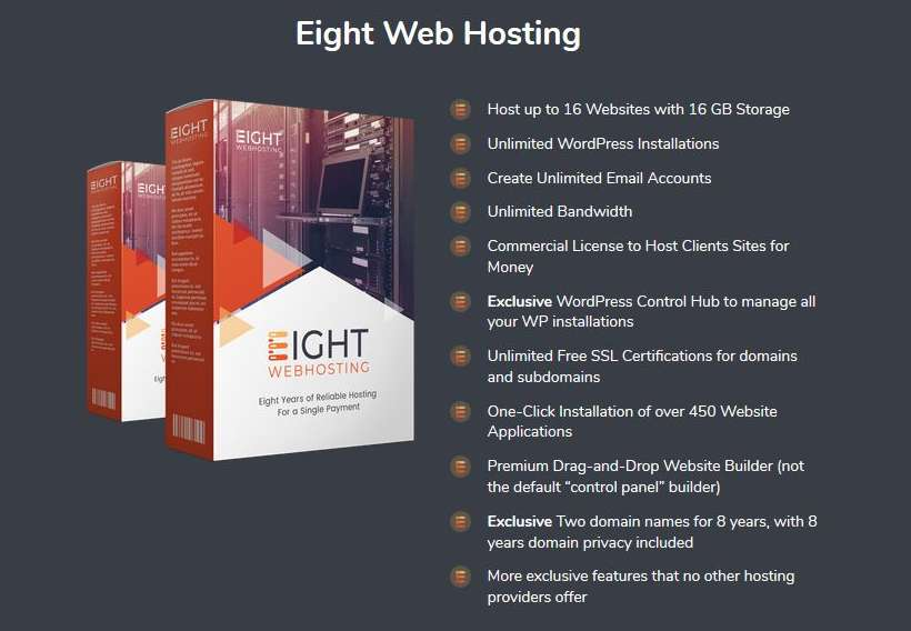Eight Webhosting | JVZOO RESEARCH